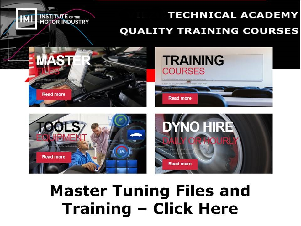 Master Tuning Files and Training